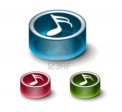 glossy-music-notes-icon-includes-3-color-versions