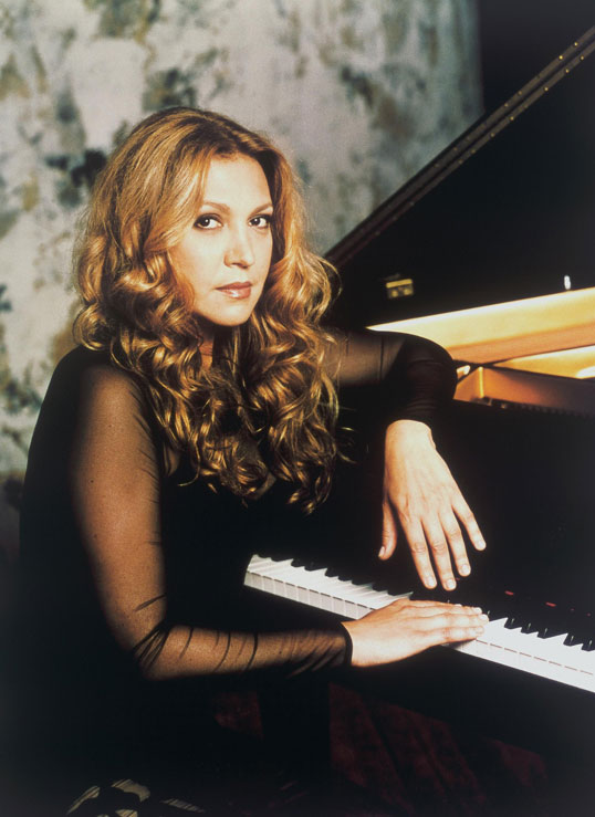 elaine elias at the piano
