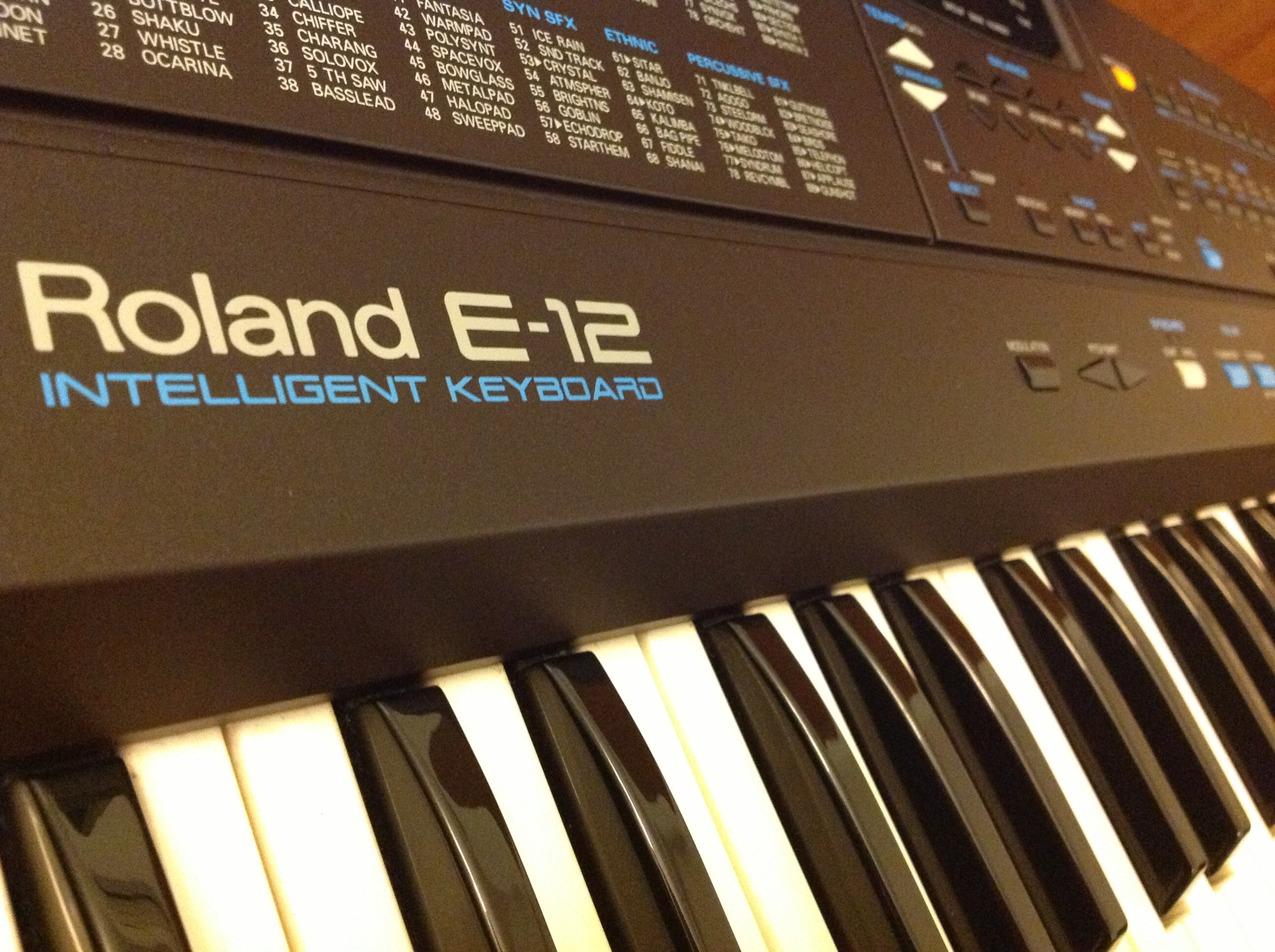 my roland e 12 intelligent keyboard giveaway my piano riffs my piano riffs. Black Bedroom Furniture Sets. Home Design Ideas